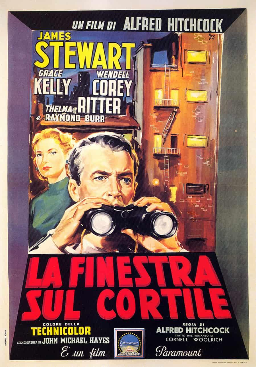 La finestra sul cortile: quando il cinema diventa protagonista del film