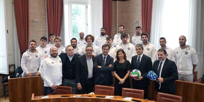 Presentata stamani la squadra di Pallanuoto di Serie A2 del CUS Unime