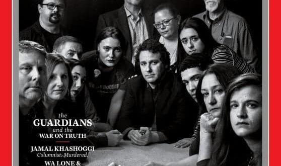Il Time sceglie i giornalisti come persone dell'anno