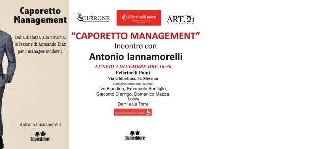 Caporetto Management – Presentazione a Messina