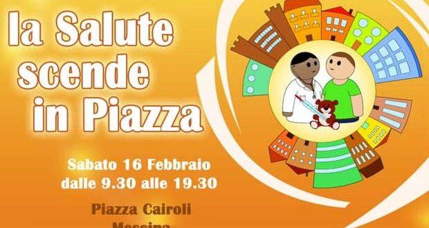"""Grande successo per l'evento del SISM di Messina: """"La salute scende in piazza"""""""