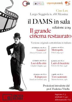 """IL DAMS in sala: """"Il grande cinema restaurato"""" @ Cine LUX"""