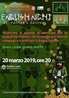 English Night, St. Patrick's Edition @ Docker's Pub