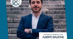 Alberto Baldone candidato al Senato Accademico