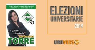 Alessandra Torre candidata al Senato Accademico