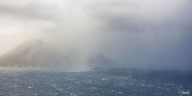 Vento forte ed isole senza collegamenti