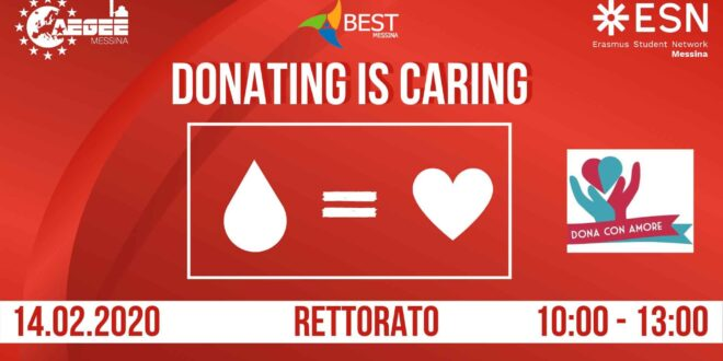 Donating is caring! A San Valentino dona un gesto d'amore