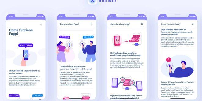 Analisi funzionamento App Immuni