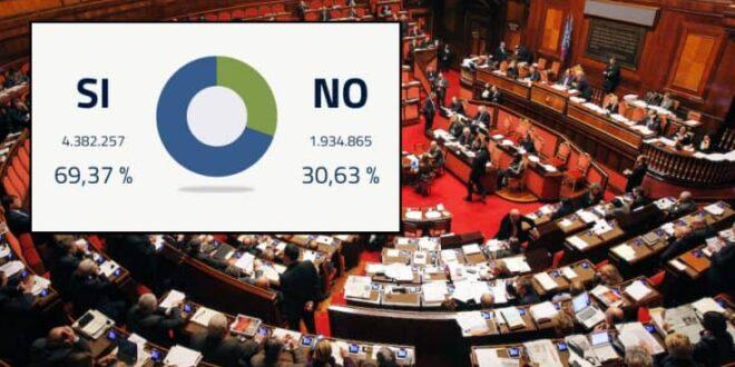 Referendum: Il Sì ha vinto. Cosa succederà adesso