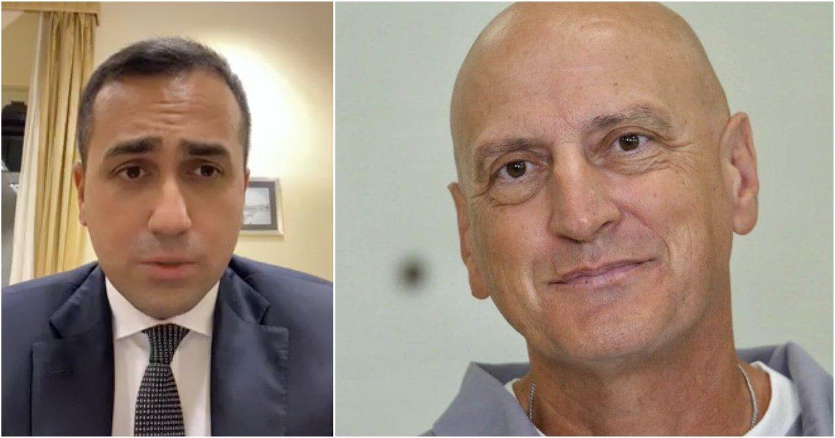 Il ministro degli esteri Luigi Di Maio e l'imprenditore Chico Forti