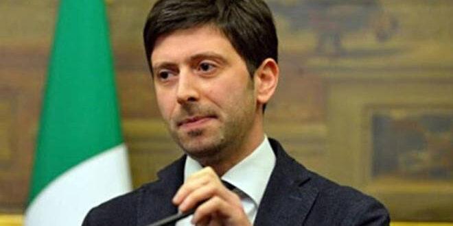 Il ministro della salute Roberto Speranza