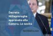 Decreto Milleproroghe: anno accademico esteso fino al 15 giugno e tutte le novità
