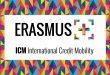 Erasmus+ ICM: pubblicato il bando