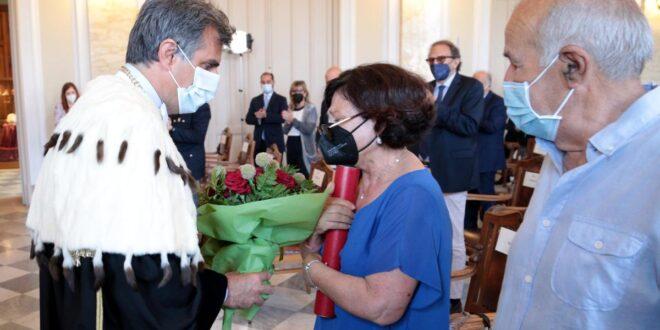 Cerimonia di laurea in memoria di Lorena Mangano