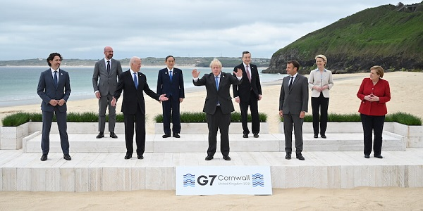 G7 2021: ecco di cosa si è parlato durante il vertice dei 7 in Cornovaglia